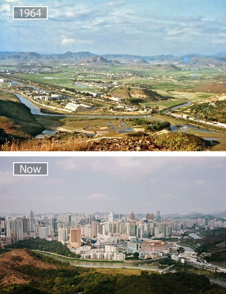 22 Jaw Dropping Before And After Pics Showing How Famous Cities Have Changed Then And Now Pictures City World Cities