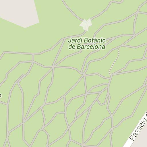 Barcelona botanical gardens