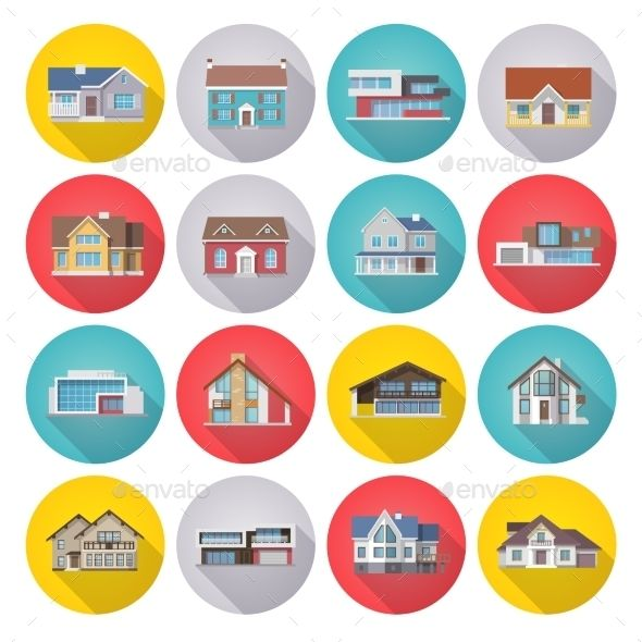 House Icons Flat Set #flaticons Download: http://graphicriver.net/item/house-icons-flat-set/11666448?ref=ksioks