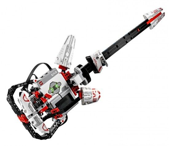 EL3CTRIC GUITAR | Play Music with EV3 | Designed by Daniele Benedettelli