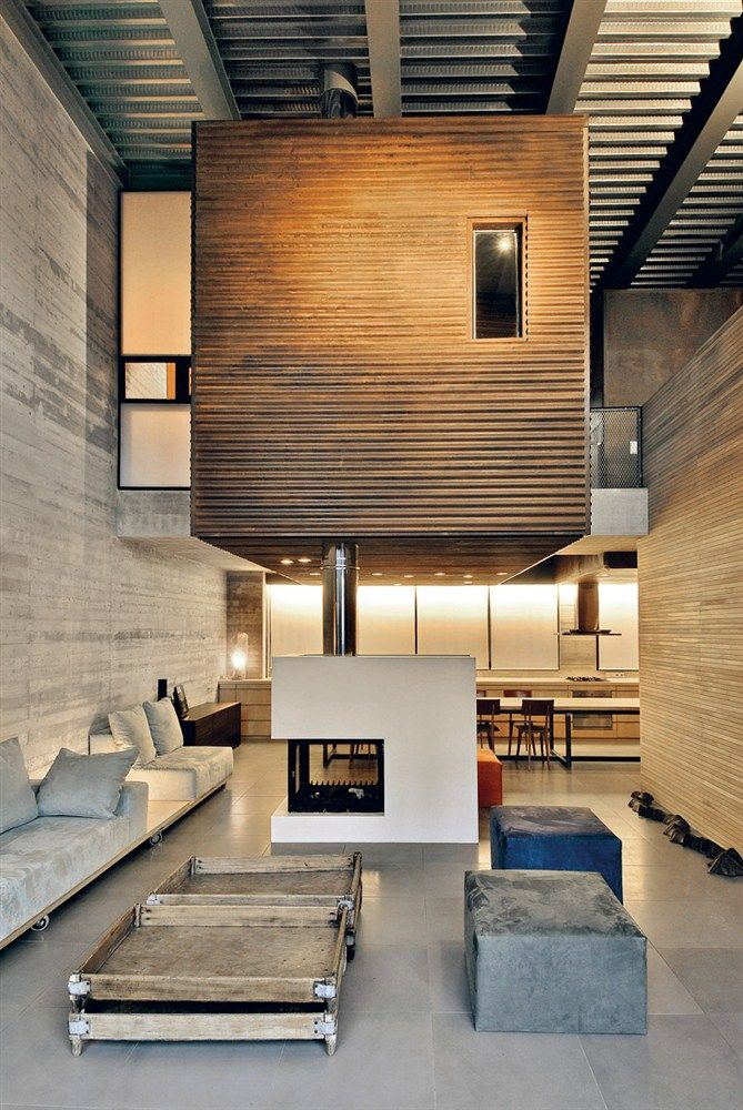 + # fireplace | Residence & office space in New Philothei