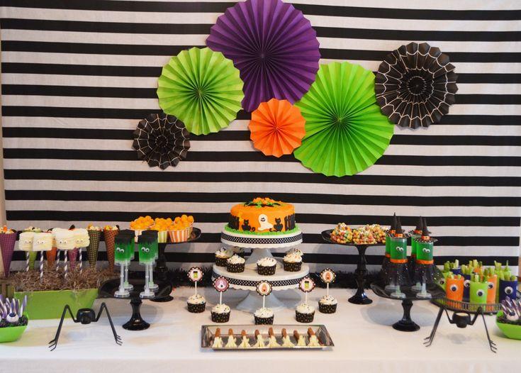 Unique Halloween Dessert Stand DIY Craft Tutorial