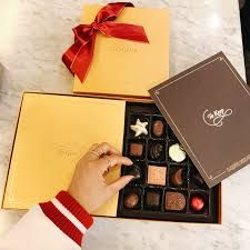 Image result for chocolatier Godiva gift give keep