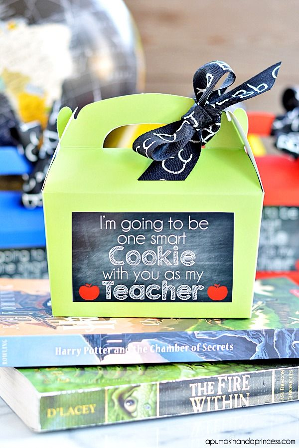 back to school - one smart cookie - pumpkin and a princess