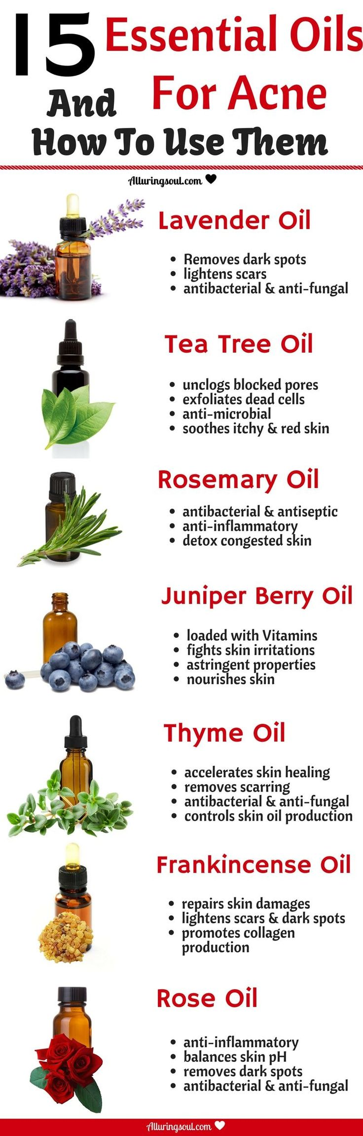 15 Best Essential Oils For Acne And Recipes