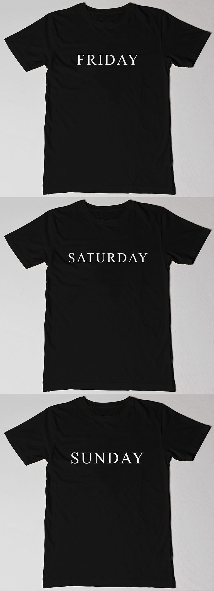 Now you can have an entire weekend of tees! Buy all 3 and get a reward! - - This and more in store! - - #weekend #friday #saturday #sunday #black #blackandwhite #tee #tshirt #blacktee #blacktshirt #slogan #slogantee #slogantshirt #sloganfashion #grunge #grungetee #grungetshirt #grungefashion #hipster #fashion #blog #blogger