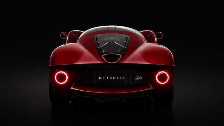 De Tomaso's Flamboyant New Hypercar Is a Futuristic Tribute to the Marque's Past Pagani Zonda, Best Luxury Cars, Luxury Suv, Bugatti, Motor V12, Car Wallpaper Download, Racing Car Design, Dual Clutch Transmission, Pebble Beach Concours