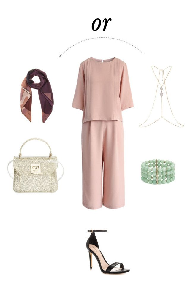 """Eid outfit"" by faamoudi on Polyvore featuring Chicwish, Lonna & Lilly, River Island, ALDO, Furla and Burberry"