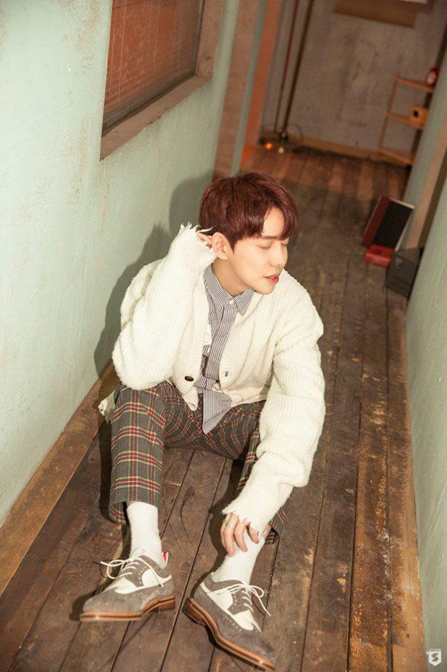 Block B's Park Kyung is total boyfriend material in teaser images for his 'Notebook' | allkpop.com