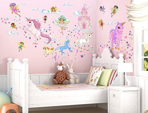 "I-love-Wandtattoo WAS-10029 Wall stickers Kids ""Fairies a..."