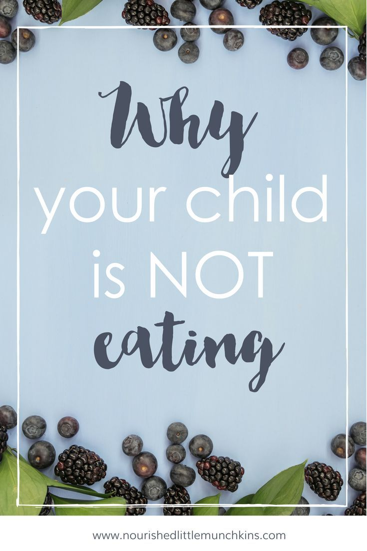 Are you concerned why your child is not eating? If so, here for some ideas why your toddler is not eating (hint: eating is not your baby's body first priority)! They could be sick, teething, or it could be nap time. Click here for more tips! #babies #tod