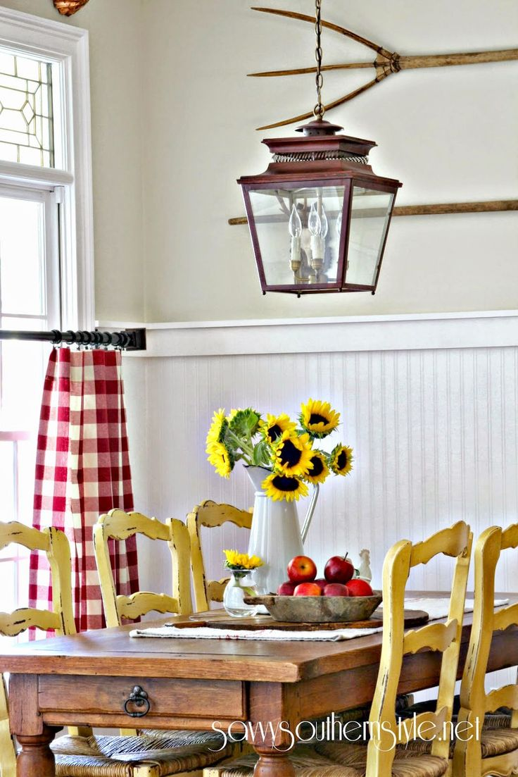 Decorating With Vintage Breadboards - Savvy Southern Style                                                                                                                                                                                 Más