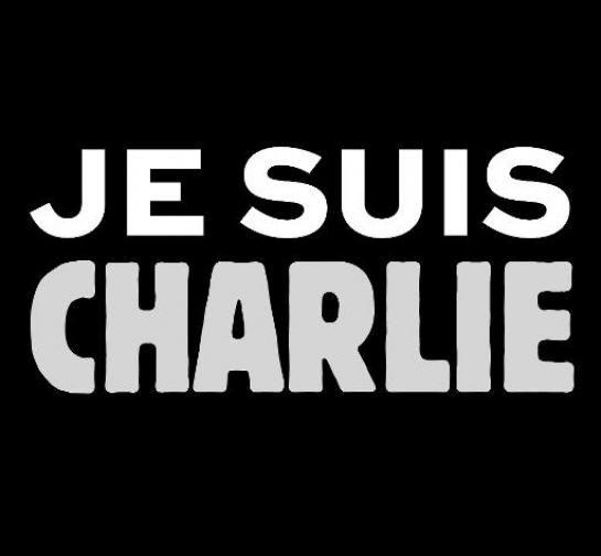 Le slogan Je suis Charlie, créé par le directeur artistique et journaliste Joachim Roncin