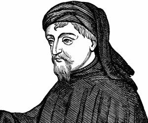 geoffrey chaucer the beginning of english literature From the canterbury tales poem by geoffrey chaucer translated by nevill chaucer was among the first writers to considered a cornerstone of english literature.