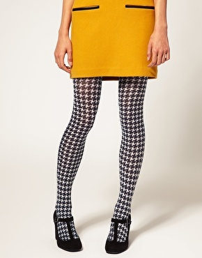 tights (love with the shoes and yellow skirt/dress)