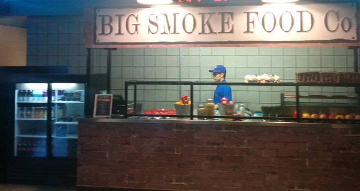 The Big Smoke Food Co. ready to serve the Blue Jays faithful.