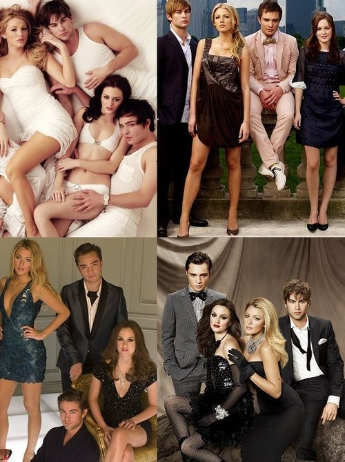 "the young cast of ""Gossip Girl""........"