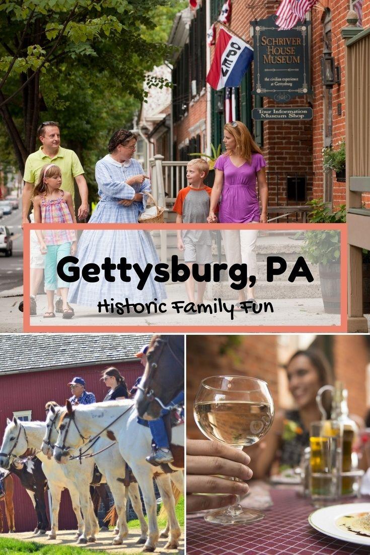 Historic Family Fun Awaits in Gettysburg, Pennsylvania