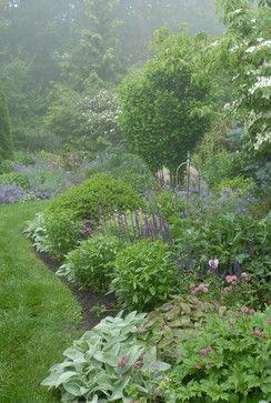 Pocket Garden - traditional - landscape - portland maine - James R. Salomon Photography