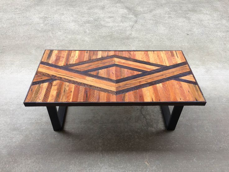 Captivating Adam Geometric Wood Coffee Table Made To By Timshelwoodworking