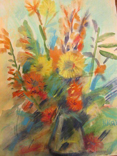 Занятия по акварельной живописи в Купчино