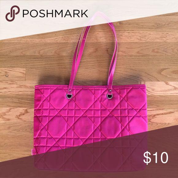 XOXO nylon tote bag NWT hot pink nylon tote bag by XOXO XOXO Bags Totes
