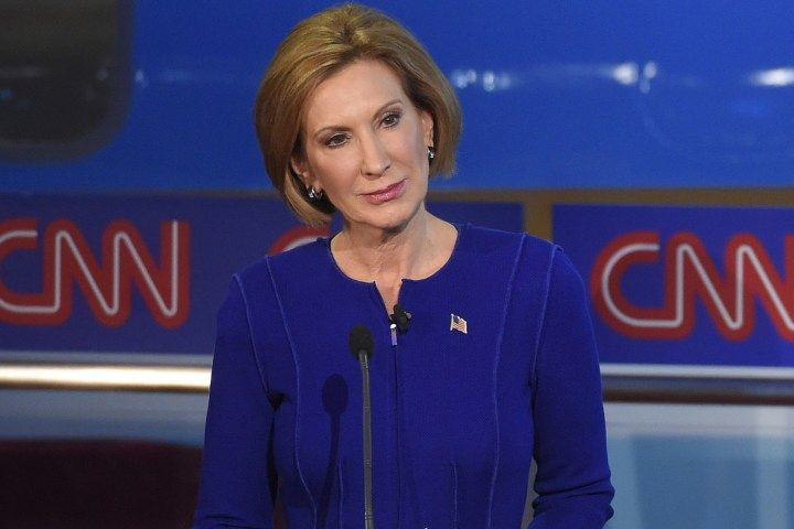 Carly Fiorina .....LOVE THIS GAL.....I'M WATCHING HER CLOSE......HOPE SHE DON'T MAKE ANY BIG MISTAKES...SHE HASN'T SO FAR.