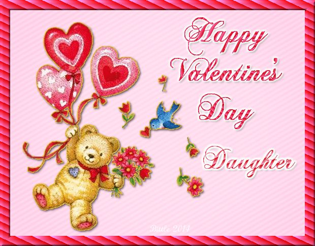 Happy Valentineu0027s Day Daughter Quote Valentines Day Valentineu0027s Day Vday  Quotes Valentines Day Quotes Happy Valentines