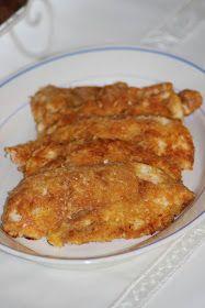 Kanapeet: Parmesaanileivitetyt kananpojan minuuttipihvit