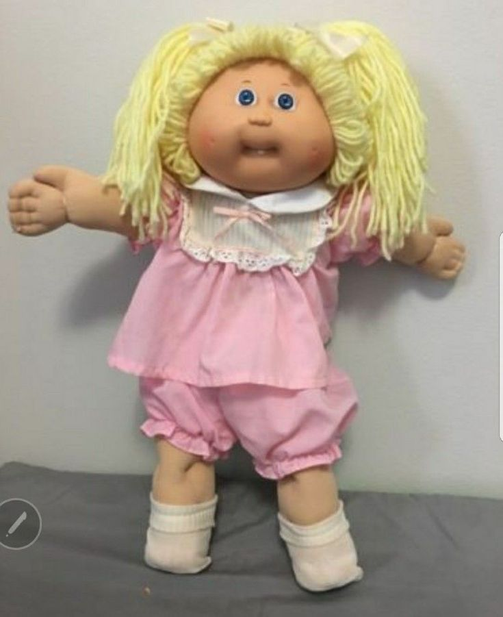 Vintage Cabbage Patch Doll Original Blue Eyes 1978, 1982  #CabbagePatchKids