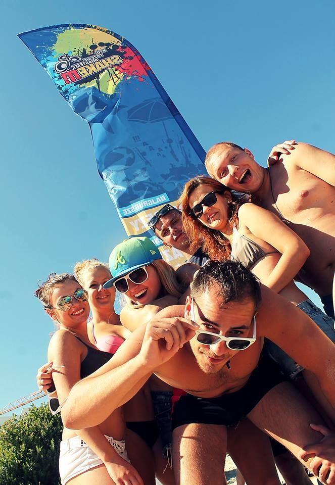 SHAKE IT! Team podczas ostatniego dnia plażowania w Cuprze Marittimie - Włochy 2014