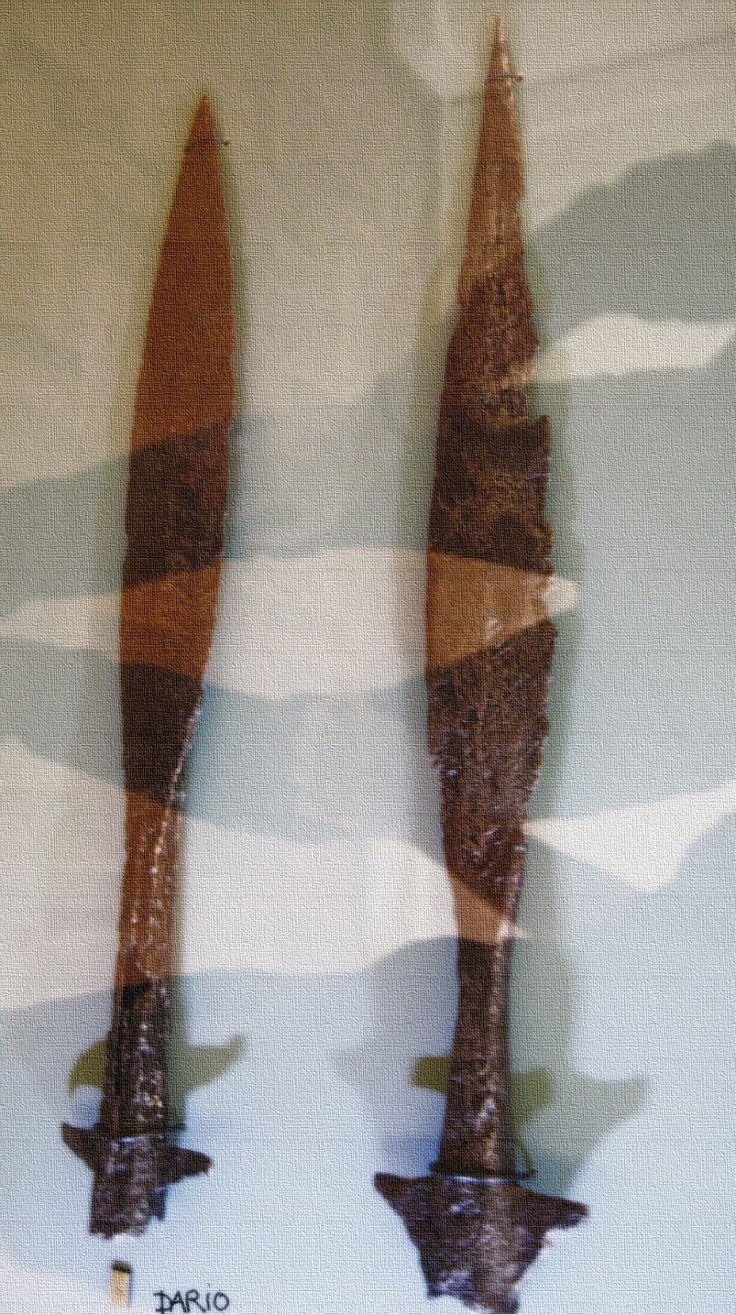 Piast late X- early XI century spear points found on Ostrów Tumski,