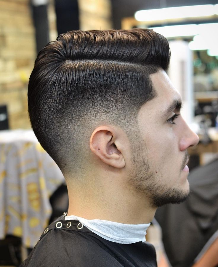 cool 50 Fresh Medium Fade Haircuts - New Ways to Amp Up the Style Check more at http://machohairstyles.com/best-medium-fade-haircut/