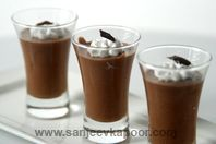 Chocolate Mousse: The popular dessert made with dark chocolate.
