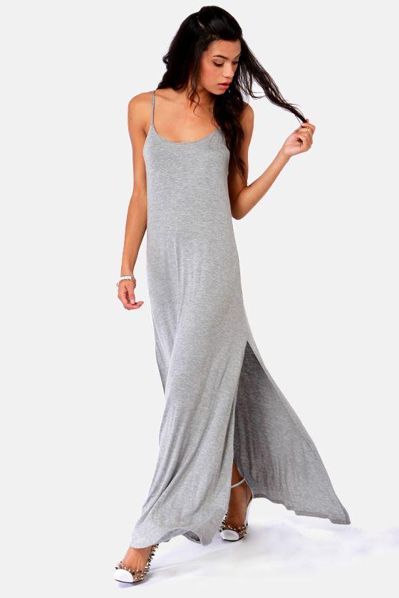 Slinky maxi dresses equals effortless Coachella style