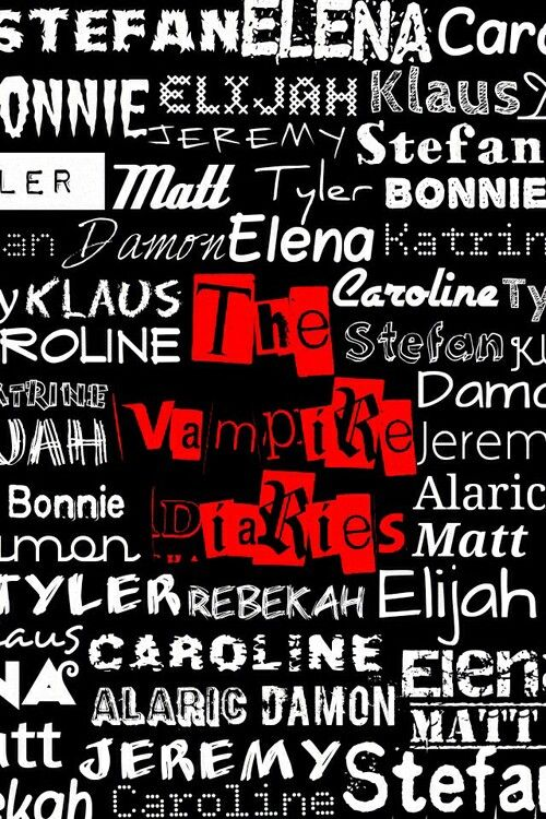 The vampire diaries wallpaper