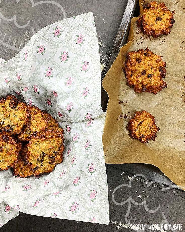 Chia Cranberry Protein-Cookies – Essen ohne Kohlenhydrate