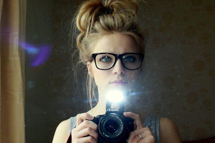 La mode hipster femme- lunettes