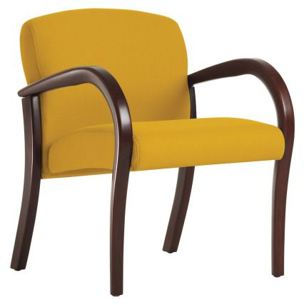 Arris Chair With Wallsaver Wood Arm   Wieland Healthcare Furniture