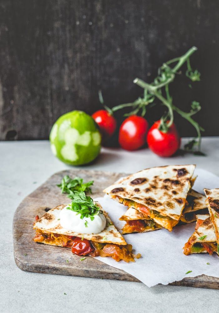 The Best Healthy Recipes: Apricot Salsa Quesadillas