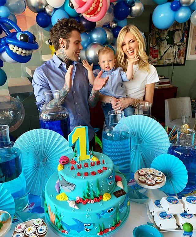 Ferragni Fedez: mega festa di compleanno per Leone