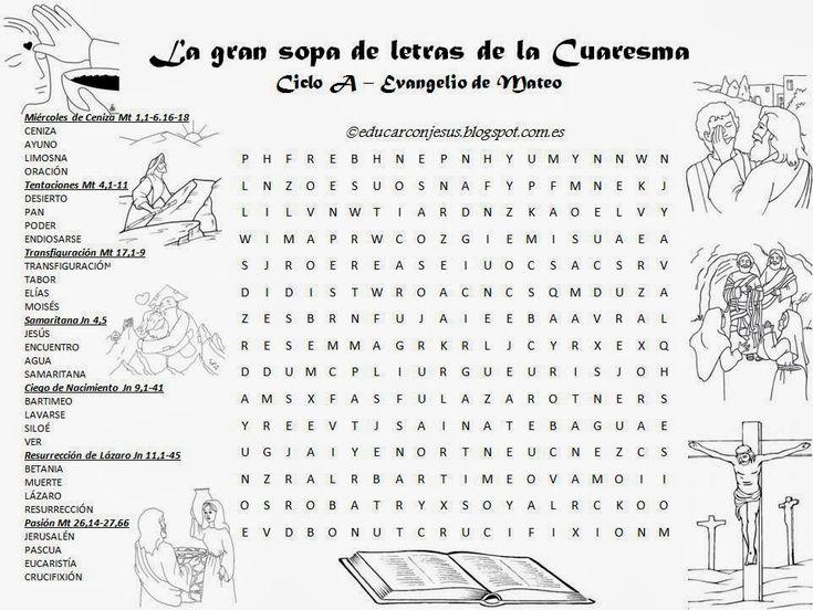 La Catequesis (El blog de Sandra): Recursos Catequesis Cuaresma