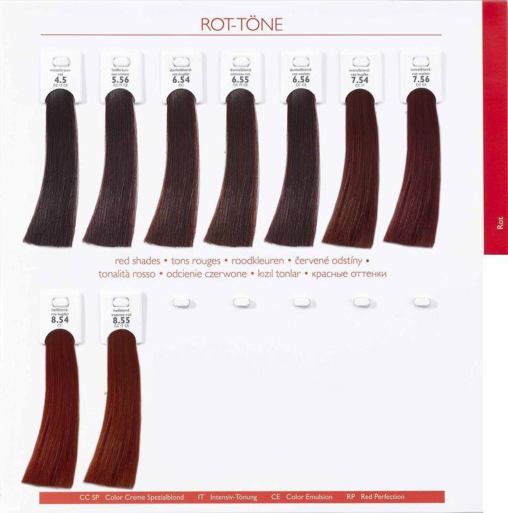 Alcina Hair Coloring Red Tones.