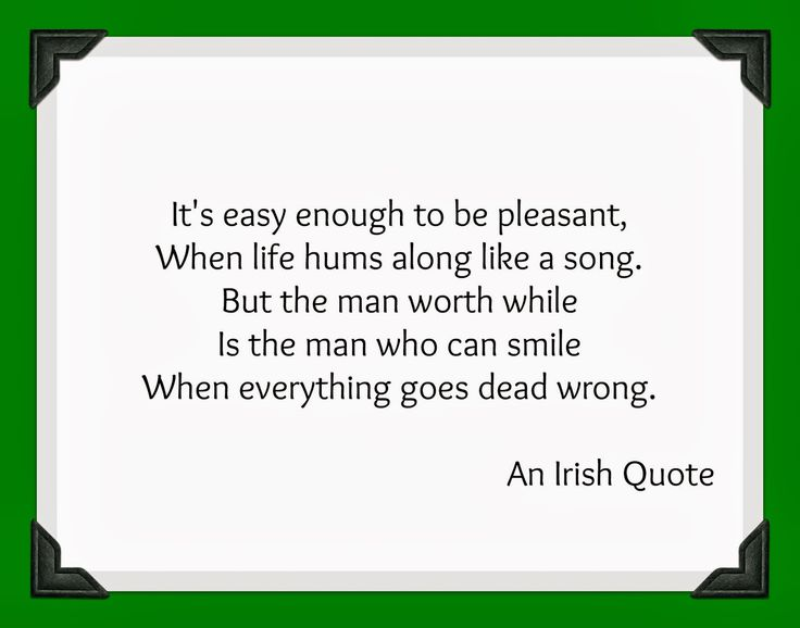 Irish Sayings | Irish Quote Friday