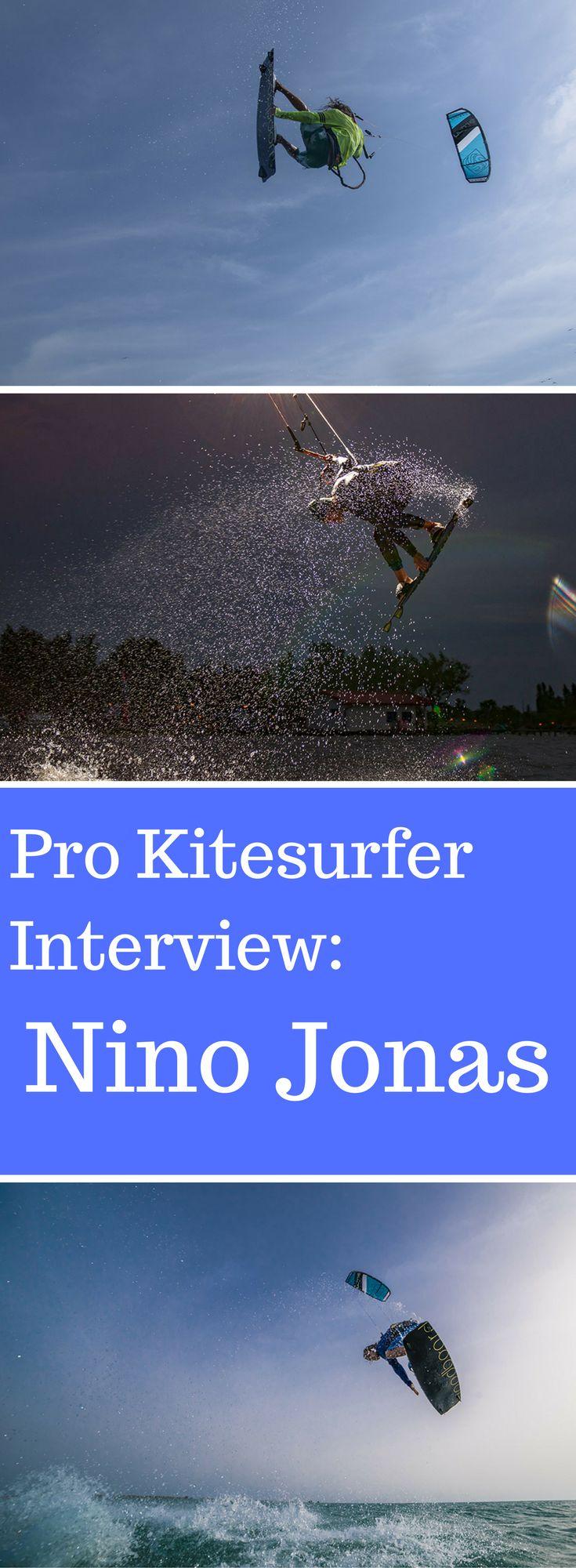 Erfahre alles was man wissen muss über den Pro Kitesurfer und Woodboard Rider Nino Jonas. Exklsuives Interview im Kiteladen Blog.