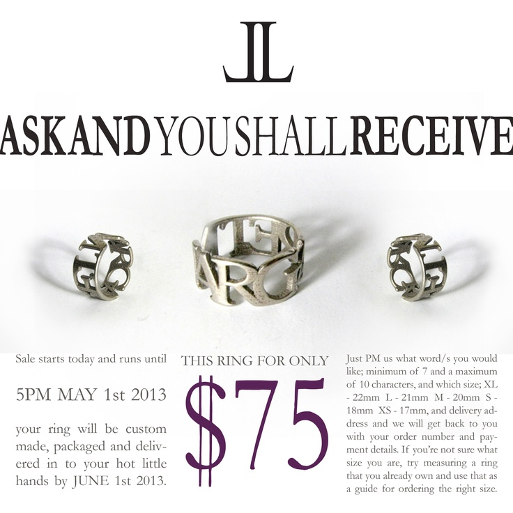 Go to www.janeandlisa.co.nz to place your order ;-)