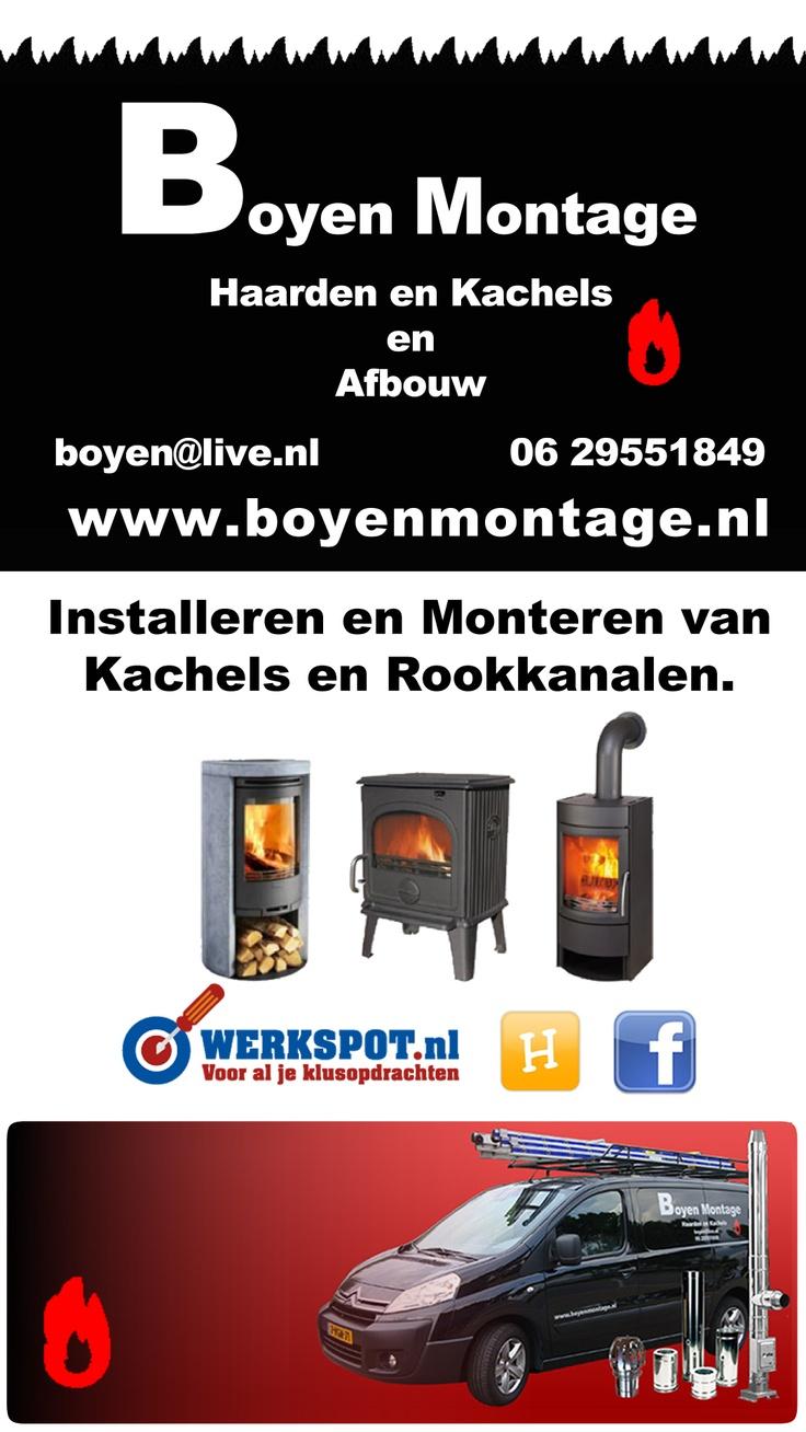 Haarden en Kachels en Afbouw. Boyen Montage 0629551849 #Lelystad www.boyenmontage.nl