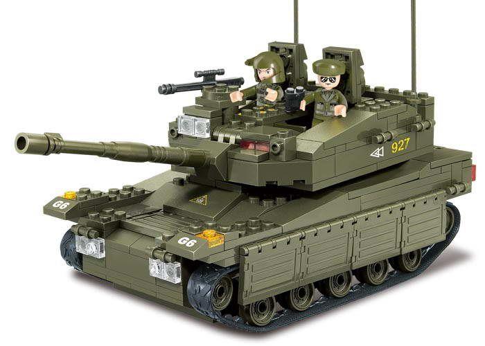 SLUBAN LEGO TANK TOY M38-B0305