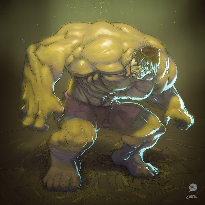 Hulk Collab by pacman23 on @DeviantArt