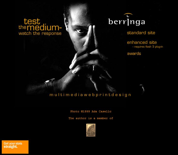 Berringa website in 2002